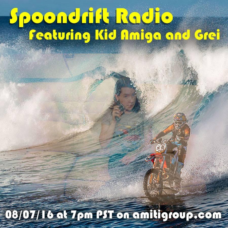 Spoondrift Radio - Feat. Kid Amiga & Grei