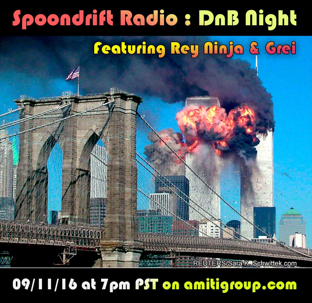 911 on Spoondrift Radio feat. Rey Ninja & Grei